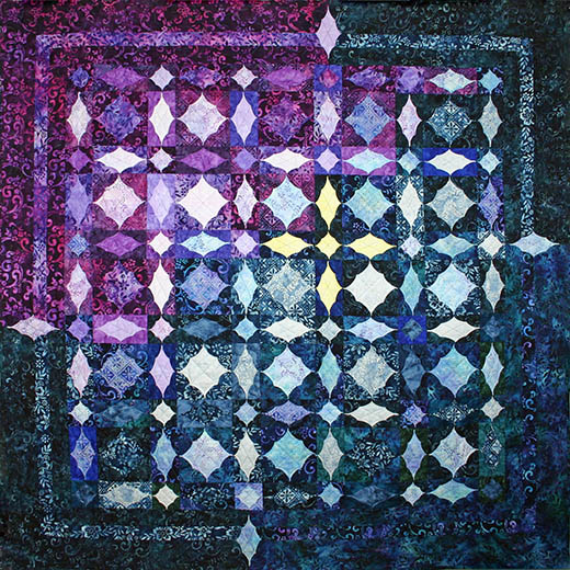 Lost in the Storm Quilt Free Pattern Designed by Shelley Swanland for Robert Kaufman