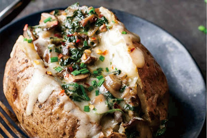 THE BAKED POTATOES
