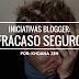 Iniciativas blogger: fracaso seguro