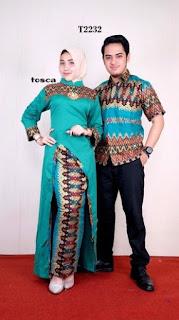 Desain Batik Sarimbit Couple Terbaru 2019
