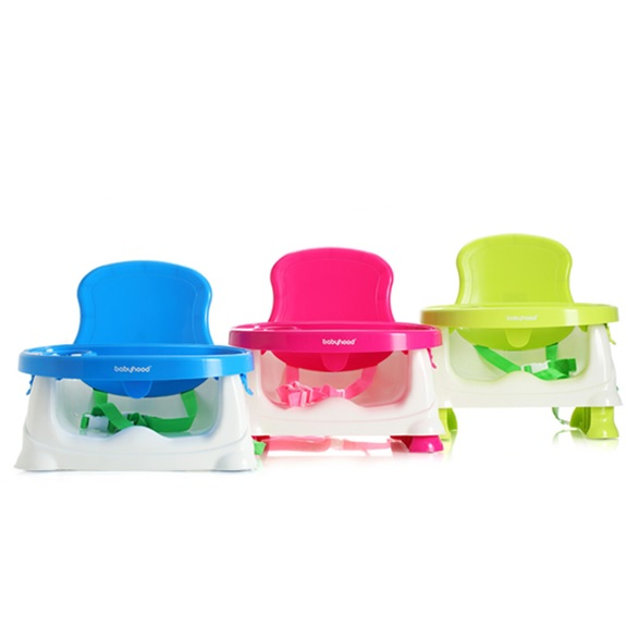 BongBongIdea Baby Booster Seat Portable Baby Dining Chair And Table