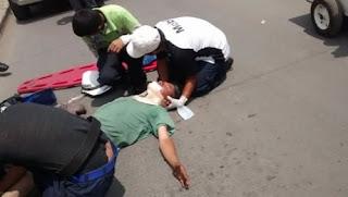 Ladrón a punto de ser linchado en Xalapa