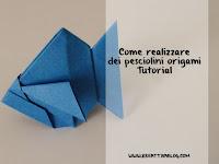 come fare un pesciolino origami