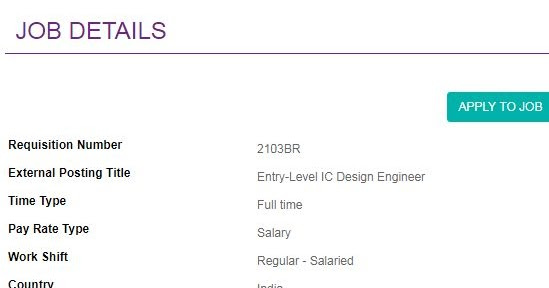 Maxim Integrated Freshers Entry Level Recruitment Drive For B E B Tech M E M Tech