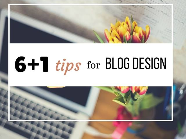 Tips for Blog Design