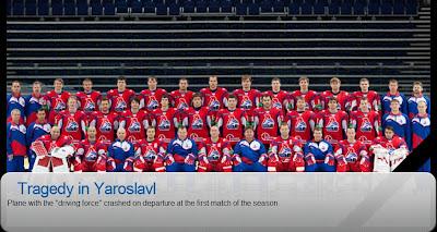 The Yaroslavl Lokomotiv Tragedy
