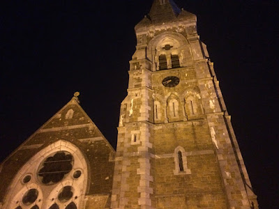 Walking around Killarney, Ireland at night.