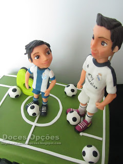 torta de cumpleaños cristiano cr7 Real Madrid
