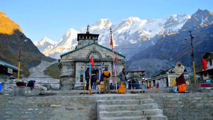 Kedarnath temple thrown open to pilgrims on Thursday after a six-month-long winter break