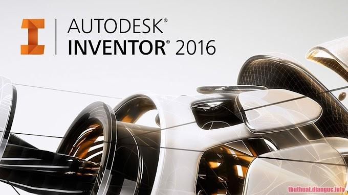 Download Autodesk Inventor 2016 Full Crack Fshare