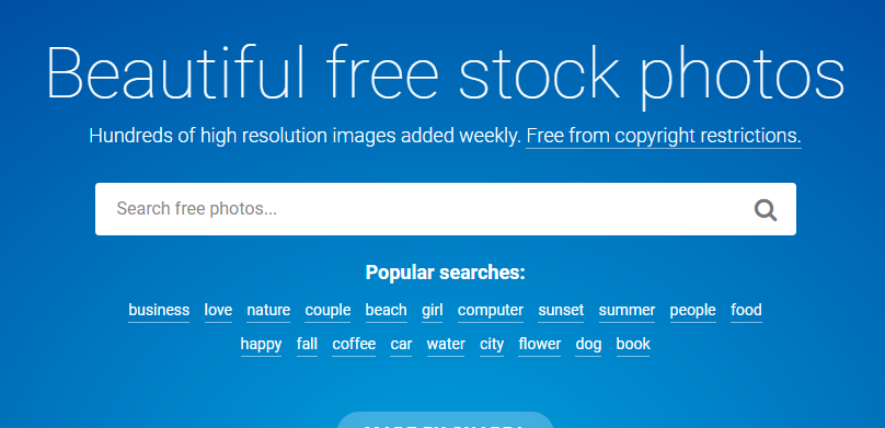 Stocksnap.io free images for blog source