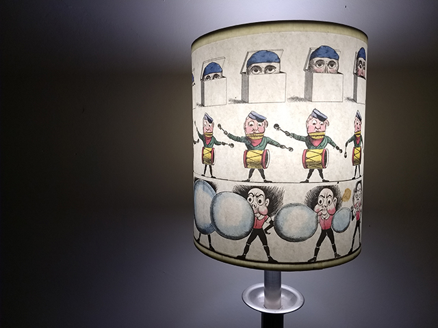 unusual table lampshade