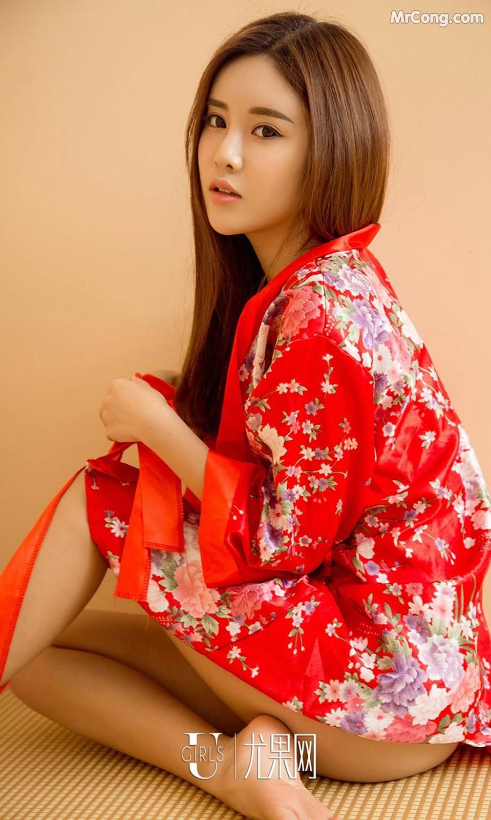 Image UGIRLS-Ai-You-Wu-App-No.998-Zhou-Xin-Yi-MrCong.com-005 in post UGIRLS – Ai You Wu App No.998: Người mẫu Zhou Xin Yi (周心怡) (40 ảnh)