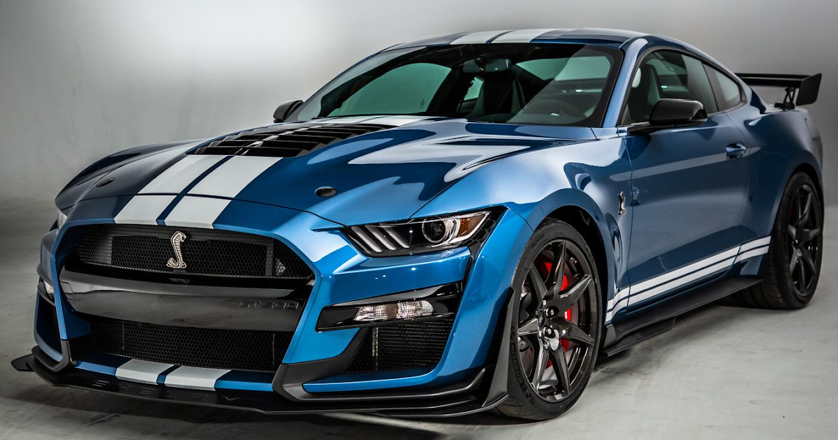 SuperCarWorld: 2020 Mustang Shelby GT500