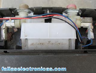 solenoides de entrada de agua de lavadora electrolux