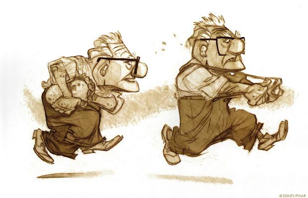 Pixar Concept Art Character Design