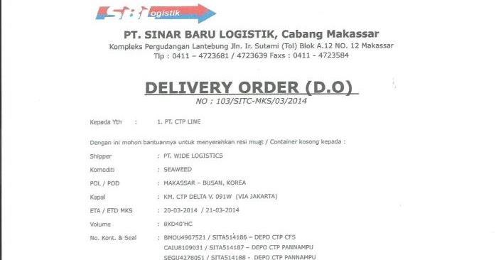 Emkl Delivery Order Do
