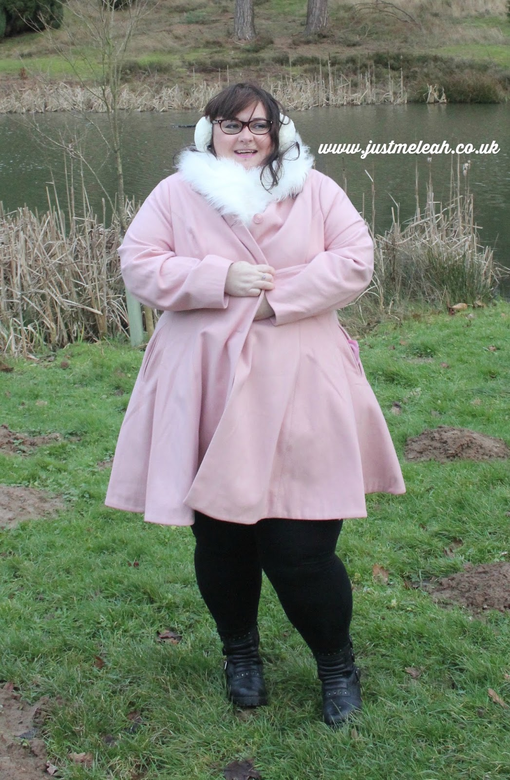 ASOS CURVE PLUS SIZE COAT