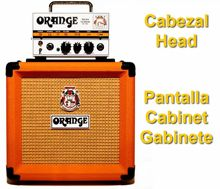 Partes de Amplificador Stack: Pantalla, Cabinet o Gabinete, y Cabezal