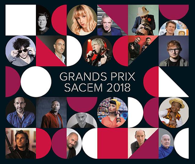 Nicola Sirkis recibirá uno de los Grands Prix Sacem 2018