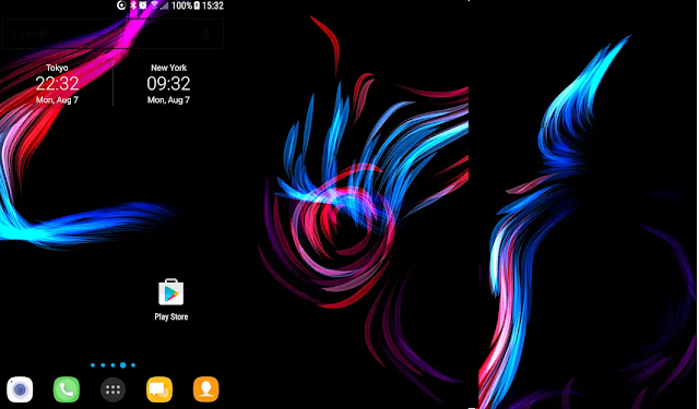 AMOLED-Live-Wallpaper