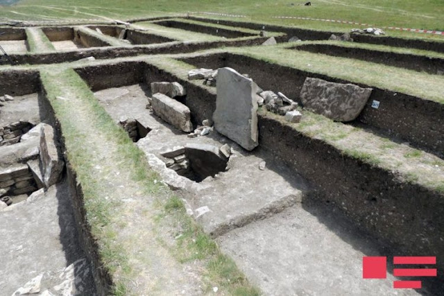 Ancient necropolis unearthed in Azerbaijan's Shamakhy
