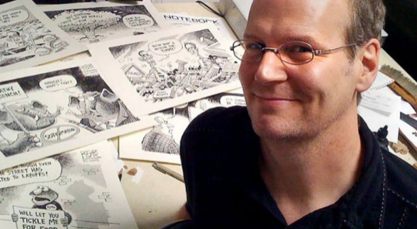 Anti-Trump Political Cartoonist Fired