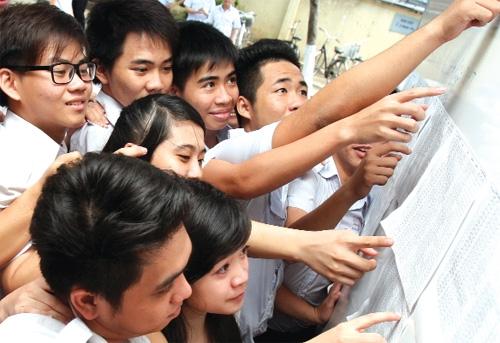 Điểm thi vào lớp 10 tỉnh Đồng Nai năm 2016