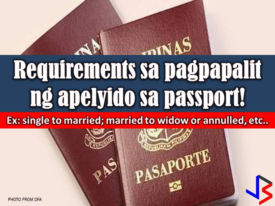 You are single, got married and you want to change your family name in all your legal documents. Pretty much easy, but how about changing your name in your passport?   Getting a passport in the Philippines is not easy since you have to undergo many processes such as setting an appointment that may take a week or a month.