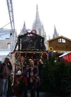 Mercado de Navidad de Santa Lucía o Santa LLúcia.