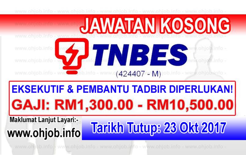 Jawatan Kerja Kosong TNBES - TNB Energy Services logo www.ohjob.info oktober 2017