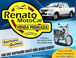 Conheça mais sobre Renato MotoCar / Venda Premiada