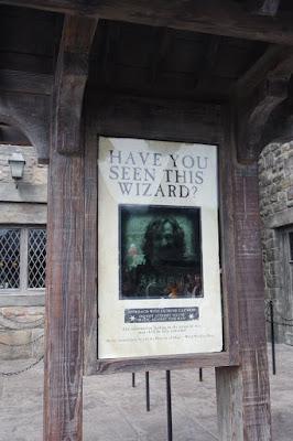 Sirius Black Sign Post at Universal Studios Japan Osaka