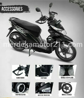 AKSESORIS HONDA NEW BEAT STREET ESP