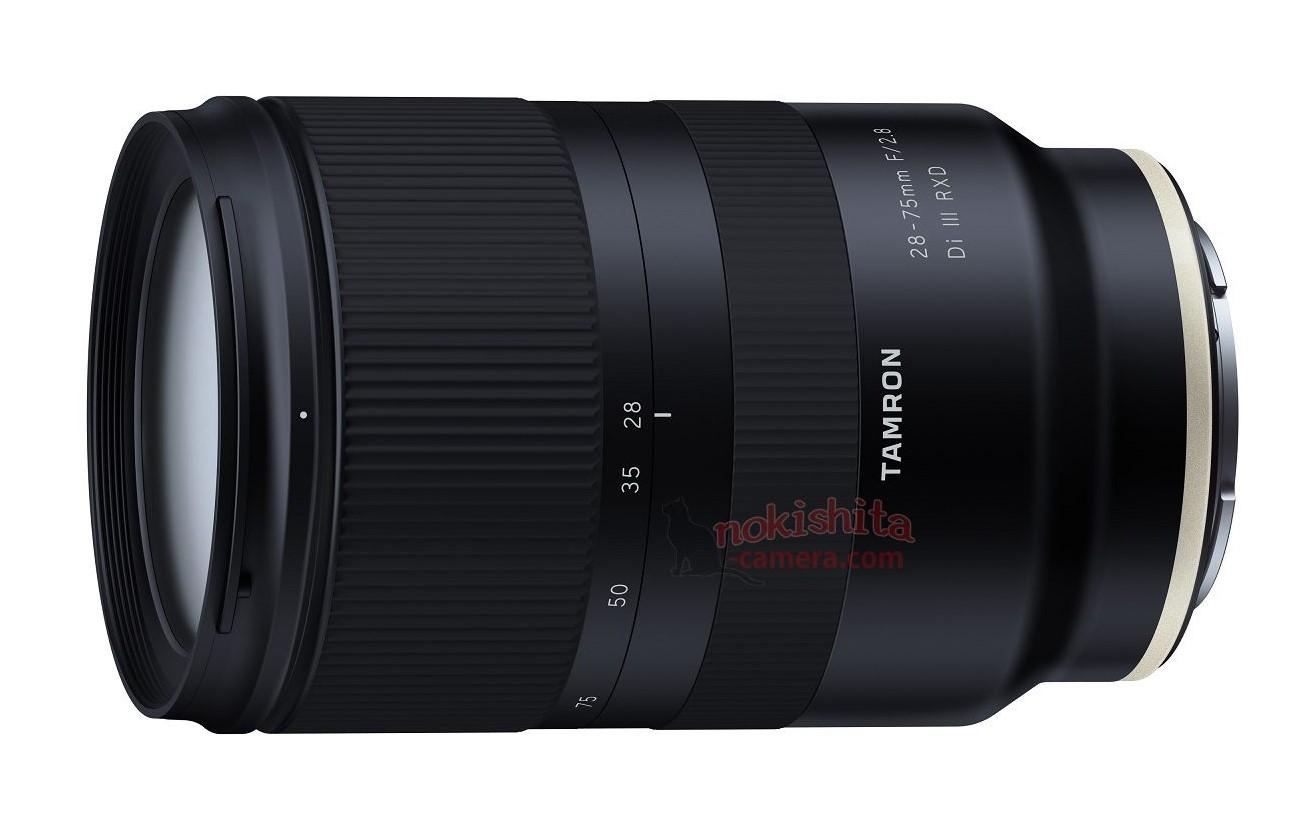 Объектив Tamron 28-75mm f/2.8 Di III RXD для байонета Sony E