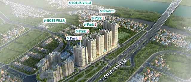 Tổng thể quy hoạch dự án Eurowindow River Park