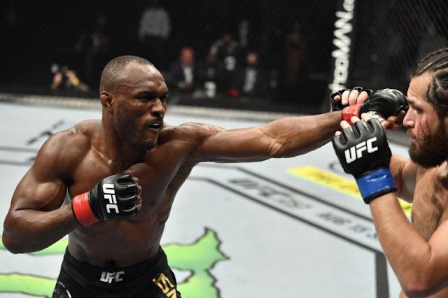 Kamaru Usman dominates Jorge Masvidal with suffocating performance in UFC 251 main event