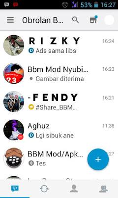 BBM Mod I-Phone v2.13.1.14 Apk Update