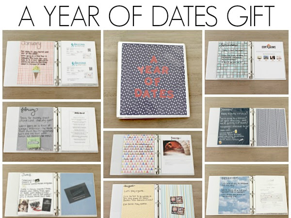 A Year of Dates Gift