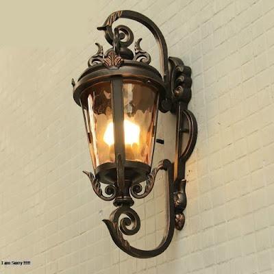 lampu dinding, lampu mewah, lampu antik