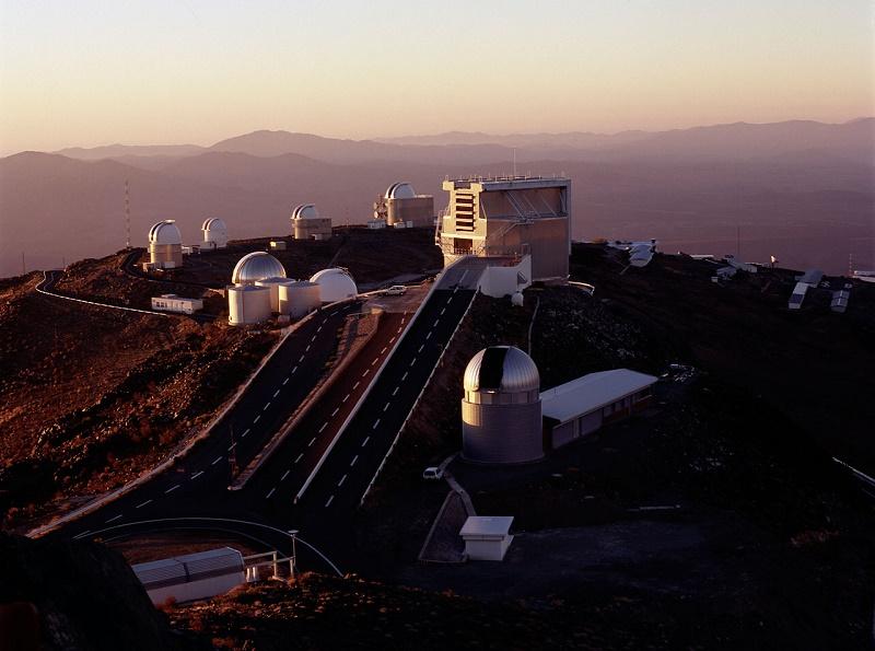 Observatorio terrestre La Silla en Chile