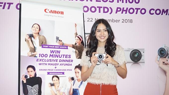Eksplorasi Kreasi dan Gaya Fashion Bersama Canon Melalui Ajang Canon EOS M 100 OOTD Photo Competition