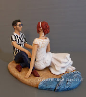 top cake tops sposi a tema mare cake topper spiaggia maglia juve orme magiche