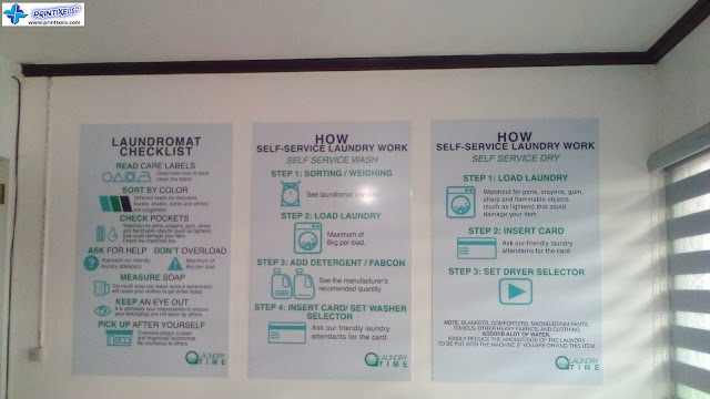 Customized Sintra Board Signs - Laundry Time