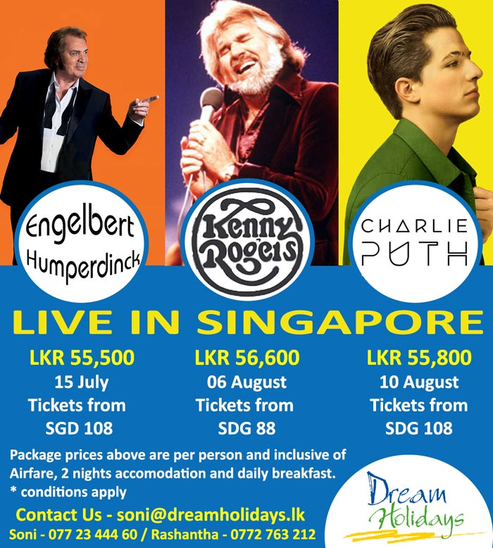 Concerts in Singapore with Dream Holidays