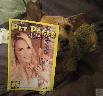Jada and Pet Pages Atlanta magazine