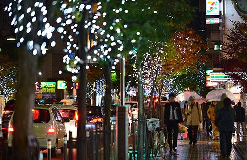 光のプロムナード 七日町大通りで開催!