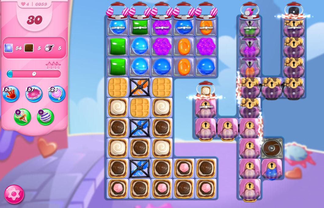 Candy Crush Saga level 6059