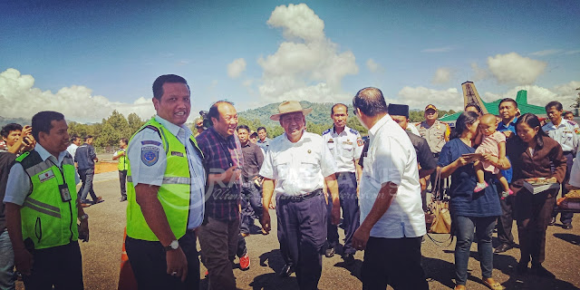 Pembebasan Lahan Warga Belum Tuntas, Bandara Buntu Kunik akan Ditinjau Kemenhub
