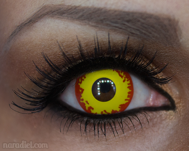Review Lentillas GEO Crazy Halloween Lens SF75 de Uniqso